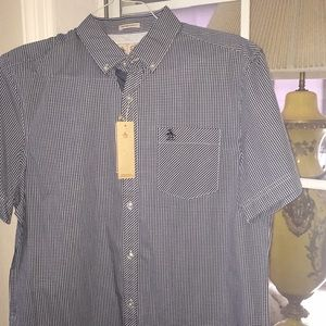 NEW PENGUIN short sleeve shirt with tags Slim fit